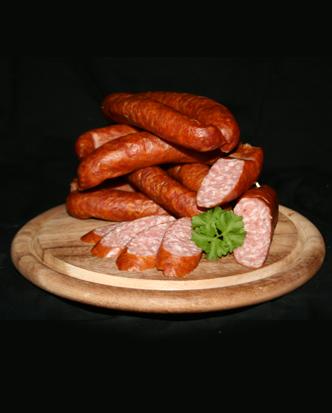 Hirschknacker (mit Schweinefleisch)